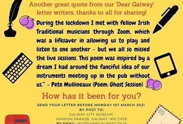 """Dear Galway"" Pandemic Project"