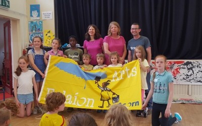 Branar Arts Flag Presentation