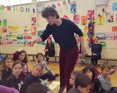 Galway Author Marguerite Tonery Visits St. Nicholas'