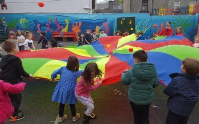 Parachute Playtime!