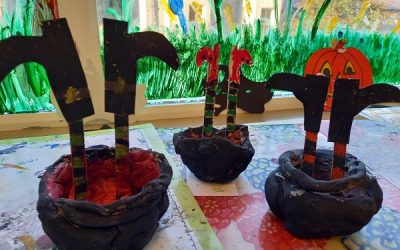 ❤ Clay Cauldrons in 3rd & 4th Class