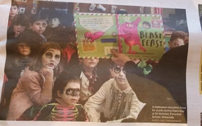 Front Page of the Galway City Tribune!!