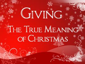 Giving at Christmas