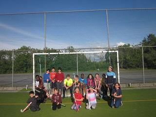 Hockey in Dangan every Friday