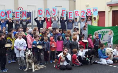 Dogs come to St. Nicholas' City School!