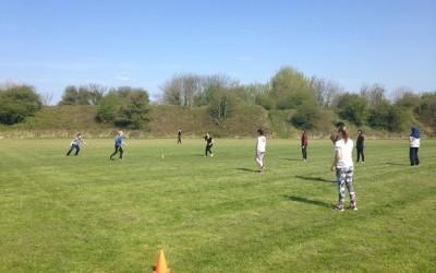 PE in the sun!