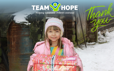 A Big Thank You from Team Hope