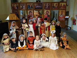 The Most Beautiful Story as told by the pupils of St. Nicholas'!